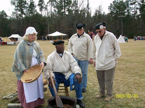 Soap makers and Turbeville marching drillers